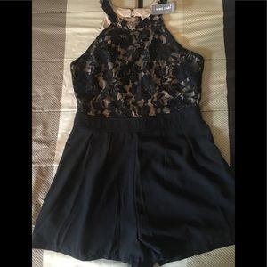 Cute dress romper